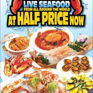 Live Seafood Half Price